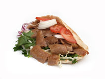 Kebab do cordeiro Fotos de Stock Royalty Free