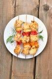 Kebab do shish da galinha Fotos de Stock