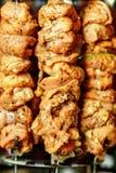 Kebab domestico fotografie stock libere da diritti
