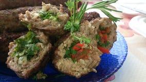 Kebab farcito Fotografia Stock