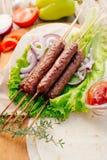 kebab Fast food Alimento oriental fotografia de stock royalty free