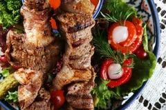 Kebab Fleisch stockbilder