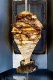 Kebab geroosterd vlees Stock Afbeelding