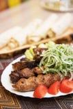 Kebab grelhado do shish Fotografia de Stock
