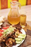 Kebab grelhado do shish Foto de Stock Royalty Free