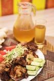 Kebab grillé de shish Photo libre de droits