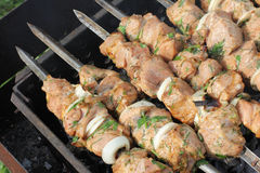 Kebab grill Royalty Free Stock Photos