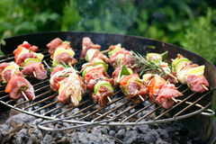 Kebab grill Stock Photo