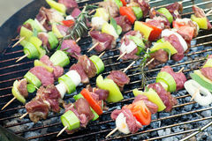 Kebab grill Stock Image