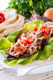 Kebab - grilled meat, bread Royalty Free Stock Images