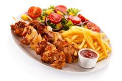 Kebab Royalty Free Stock Photography