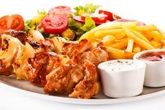 Kebab Royalty Free Stock Images