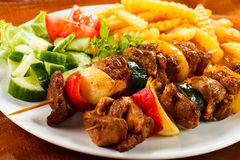 Kebab Royalty Free Stock Image