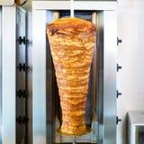 Kebab - hete Doner met verse ingrediënten royalty-vrije stock afbeelding