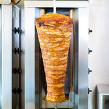 Kebab - hot Doner with fresh ingredients Royalty Free Stock Image