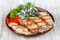 kebab kurczaka Fotografia Royalty Free