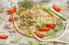 Kebab lub gyros pita zdjęcia stock