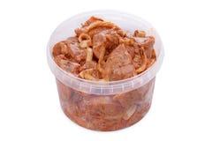 Kebab Marinovynny shish от куриной грудки Стоковые Фото