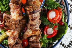 Kebab meat Stock Images