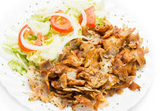 Kebab meat Stock Photo