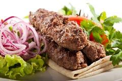 Kebab Plate Stock Photos