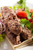 Kebab Plate Stock Images