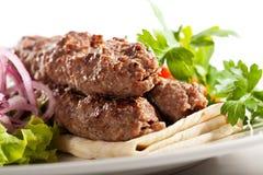 Kebab Plate Royalty Free Stock Image