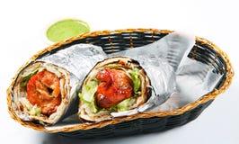 Kebab roll Stock Photo