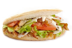 Kebab sandwich Stock Photography