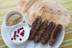Kebab Seekh стоковые фотографии rf
