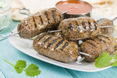 Kebab Seekh Стоковое Изображение RF
