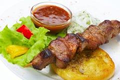kebab shish 免版税库存图片