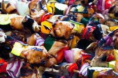 kebab shish 图库摄影