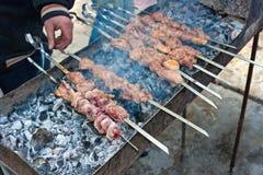 kebab shish 免版税图库摄影