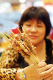 kebab shish 免版税库存照片
