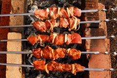kebab shish 库存照片