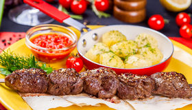 Kebab Shish Стоковая Фотография