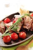 kebab shish warzywa Obrazy Stock