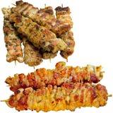 Kebab on skewers. Royalty Free Stock Photo