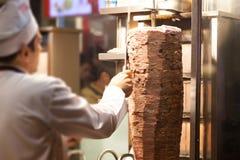 kebab sklep obrazy stock