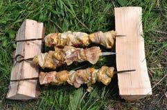 Kebab squisito Fotografia Stock Libera da Diritti