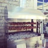 Kebab tradicional de Chipre, Souvla Imagen de archivo libre de regalías