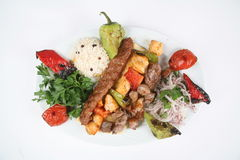 Kebab turco Fotografia de Stock