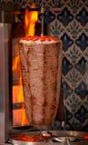 Kebab turco autentico del doner Fotografie Stock Libere da Diritti