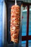 Kebab turco del doner immagini stock