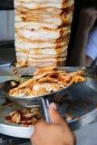 Kebab turco del doner Fotos de archivo libres de regalías