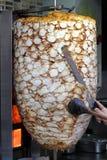 Kebab turco del doner fotografía de archivo libre de regalías
