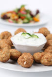 Kebab and tzatziki Royalty Free Stock Photography