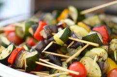 Kebab vegetal Fotos de archivo libres de regalías