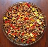 Kebab vegetal Imagenes de archivo